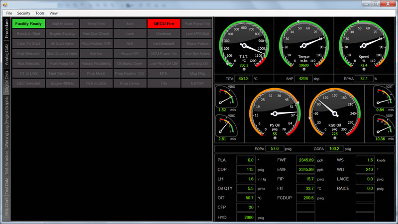 auto test prompted engine test software